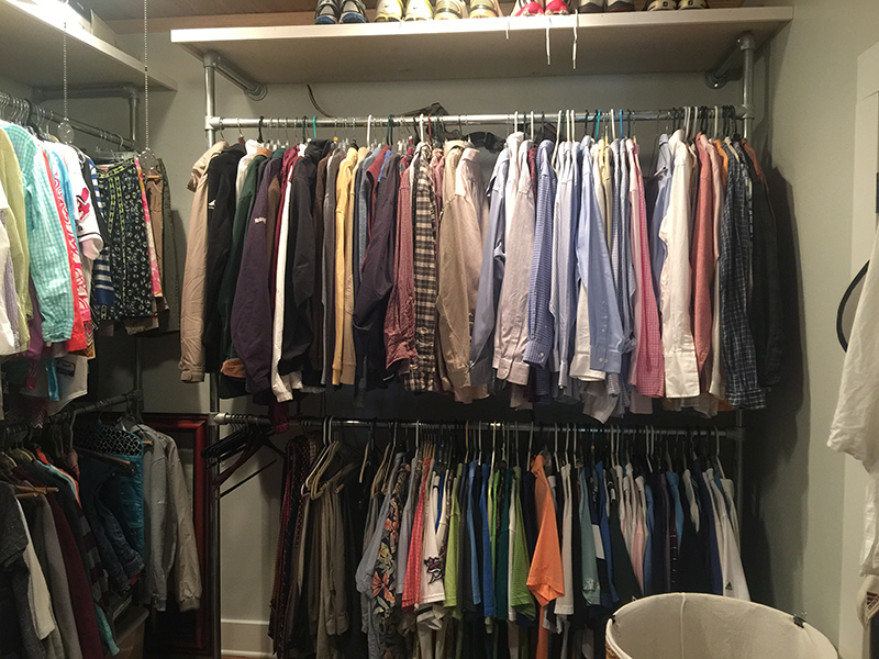 Pipe clothes rack, a budget-friendly solution to organize your clothes