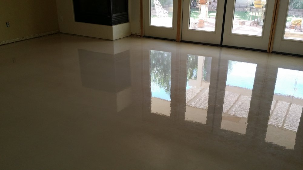 Types Of Concrete Floors