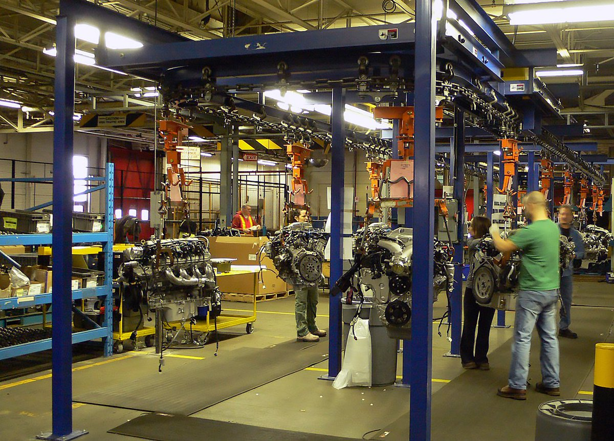 Overhead Conveyors for Final Assembly